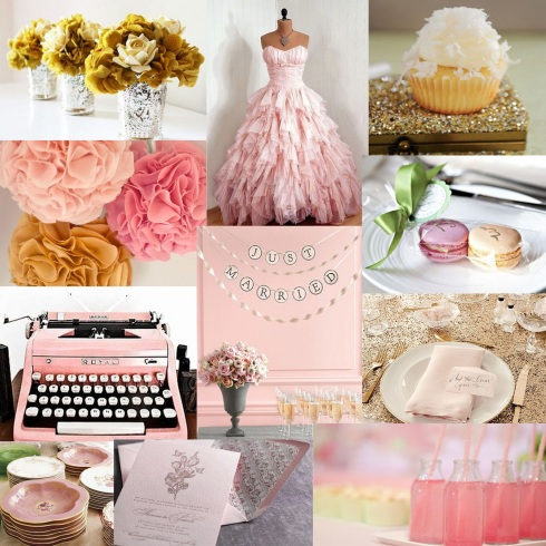 Taylor'd Events Inspiration Board macaroon